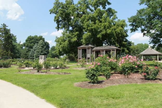Shanna Morrison Memorial Rose Garden in West Flanders Park